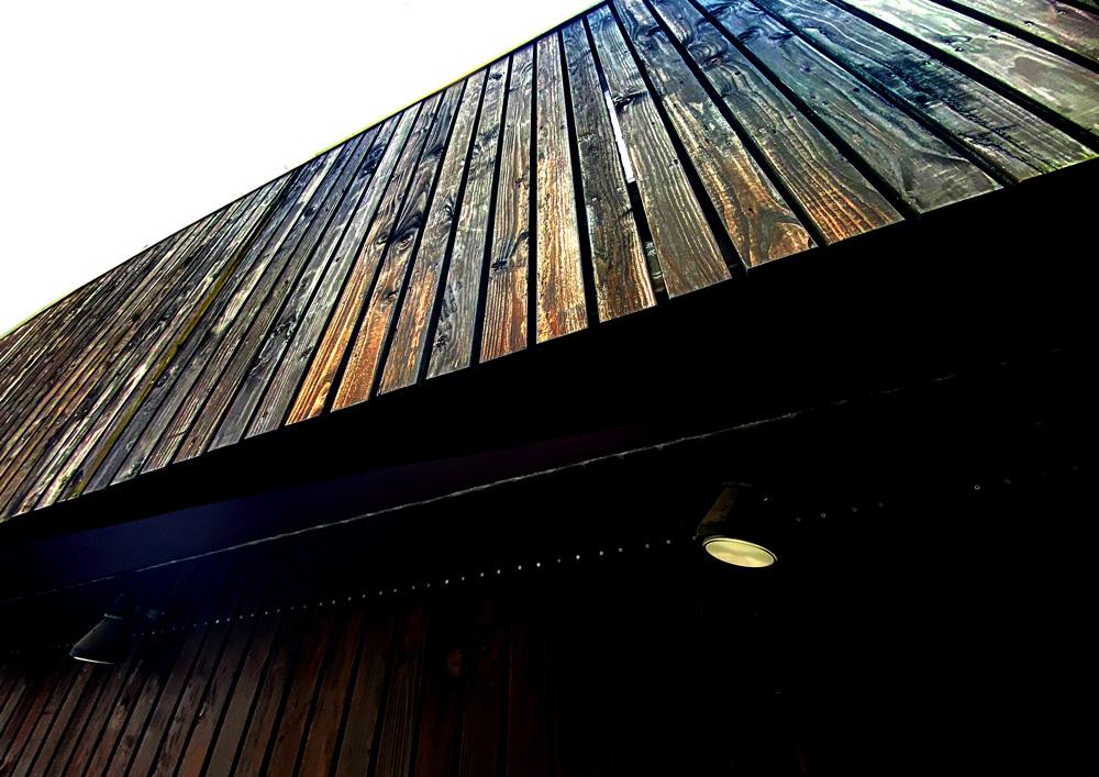 外壁に使われる焼杉